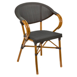 MARINO TERRACE CHAIR CLASSIC BAMBO BLACK