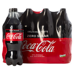 COCA COLA ZERO 1,25L PET VERV. 2004000