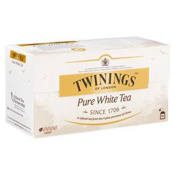 PURE WHITE TEA TWININGS