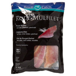 RED MULLET FILLETS DV THAI 60/80