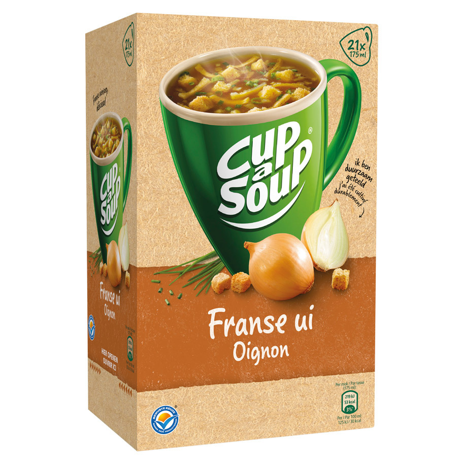 UIENSOEP FRANSE CUP A SUP CATERING