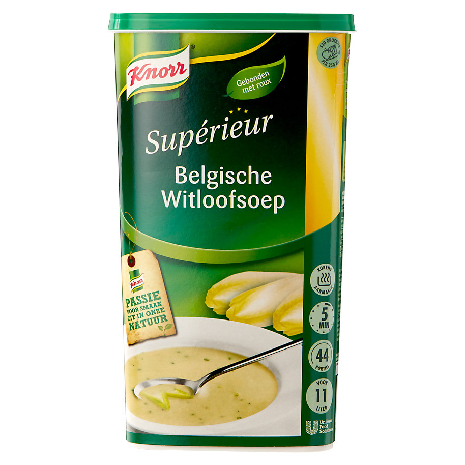 BELGIAN CHICORY SOUP KNORR SUPERIEUR