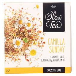 TEE CAMILLA SUNDAY PICKWICK SLOW TEA