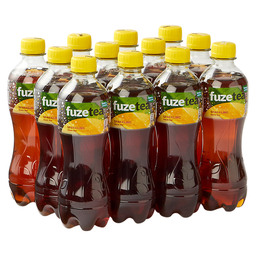 FUZE TEA SPARKLING BLACK TEA PET 0,4L