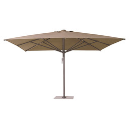 LIVA UMBRELLA 3X3M W.VOLANT PLAT./BLACK