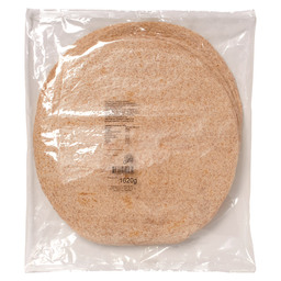 CATERING WRAPS WHOLEWHEAT 30CM, 1620G, 1