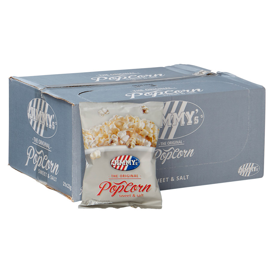POPCORN MINIBAG SWEET & SALT 22GR