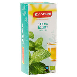 THEE MUNT 100% BIOLOGISCH FAIRTRADE