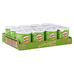 PRINGLES SOUR CREAM & ONION 40GR
