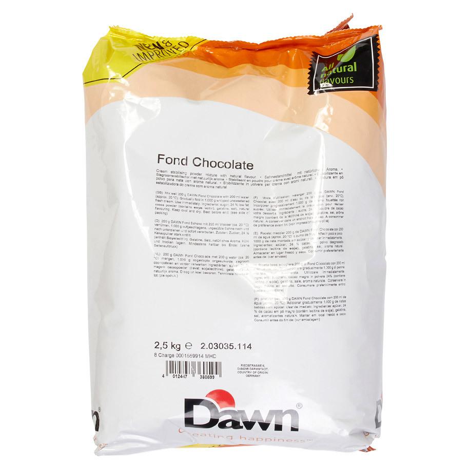 FOND CHOCOLADE
