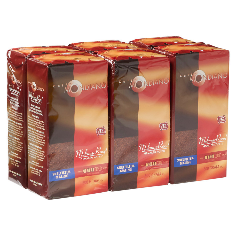 COFFEE 500GR QUICK FILTER CAFFE MONDIANO