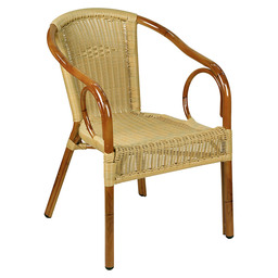 COSTA CHAIR CLASSIC NATURAL ROUND