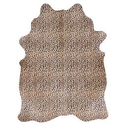 COWHIDE PANTHER PRINT 3-4M2