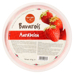 TURBAN BRABANT STRAWBERRIES BAVAROIS