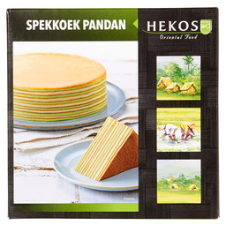 LAYERED INDONESIAN CAKE PANDANG