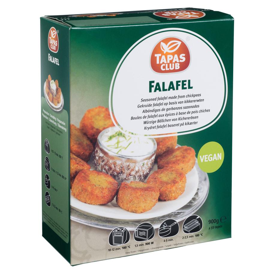 FALAFEL BALLS TAPAS CLUB CA 60PCS