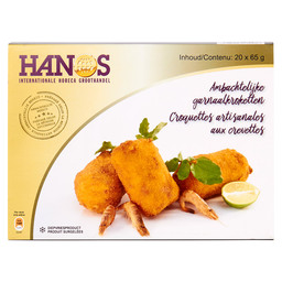 NORTH SEA SHRIMPS CROQUETTES 32%