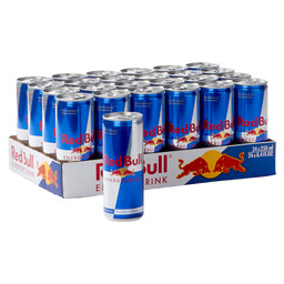 RED BULL 25CL TIN