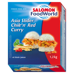ASIA SLIDER CHIK'N RED CURRY