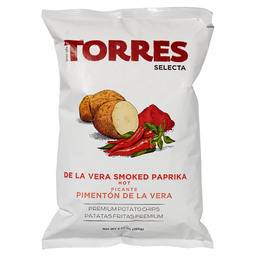 DE LA VERA HOT SMOKED POTATO CHIPS