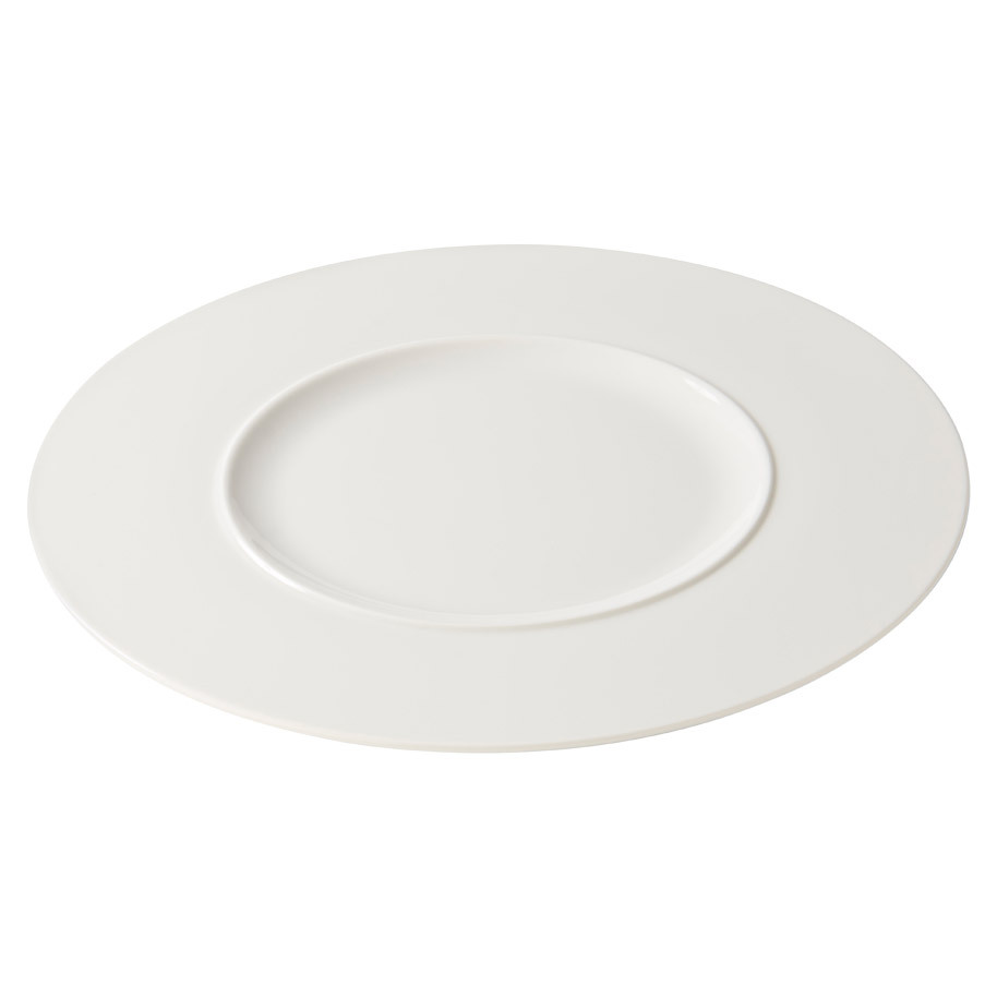 GALAXY DELIGHT BORD WIT ROND 29CM