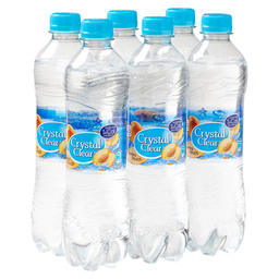 CRYSTAL CLEAR PEACH 50CL PET