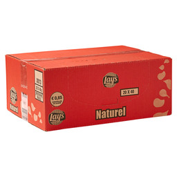 CHIPS NATUREL 40GR  LAY'S