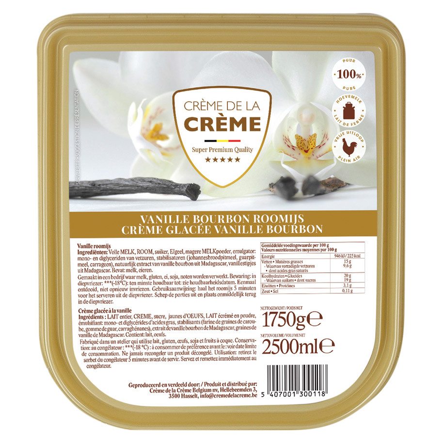 CREME GLACE VANILLE
