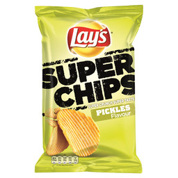 LAY'S SUPERCHIPS PICKLES GERIBBELD