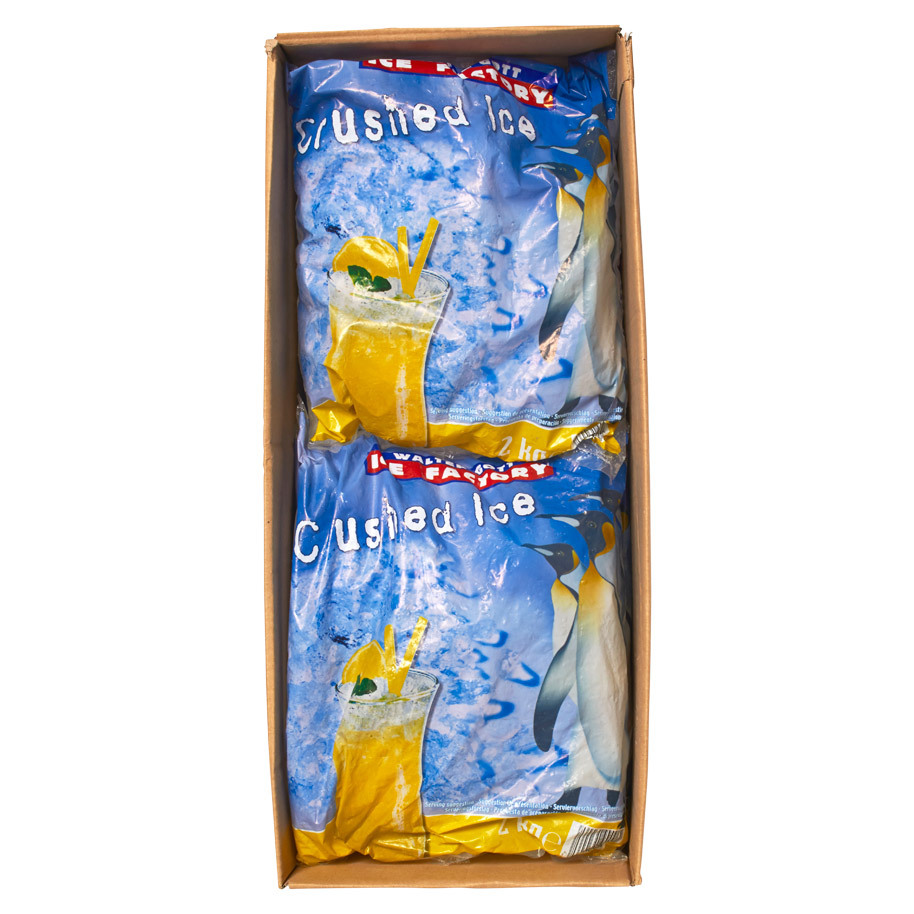 CRUSHED-EIS 6X2KG ICE FACTORY