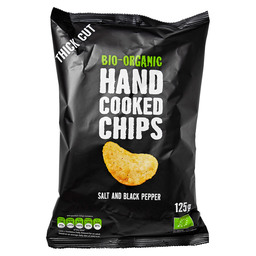 CRISPS SEA SALT PEPPER HANDCOOKED EKO
