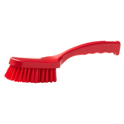 DISHWASHING BRUSH L HACCP RED 275MMX70MM