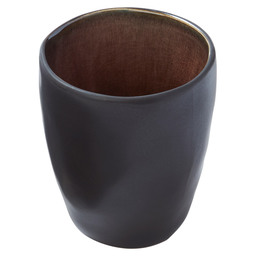 CUP PURE BROWN FLAMED