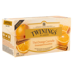 THE ORANGE/CANNELLE TWININGS