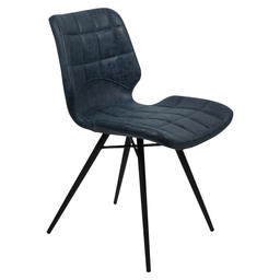 BRYCE CHAIR - BLUE / F:BLACK