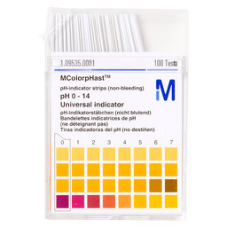 PH-INDICATOR STRIPS 0-14 MERCK