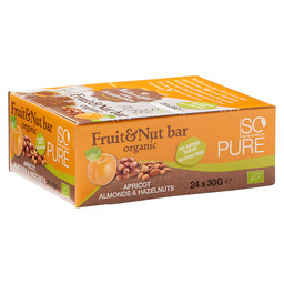 SOPURE BAR FRUIT NUT APRICOT BIO 30GR