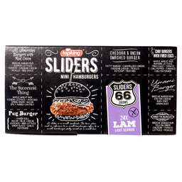 MINI HAMBURGERS LAM SLIDERS 66GR