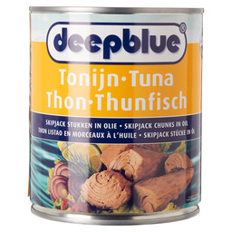 TONIJN SKIPJACK CHUNKS IN Z.OLIE D.BLUE