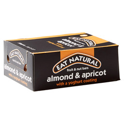 EAT NATURAL BAR 50GR ALMOND/APRICOT/YOG