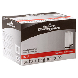 TURO SOFTDRINKGLAS 22CL SELECT