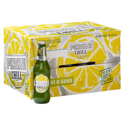 PERONI CHILL LEMON 24X33CL