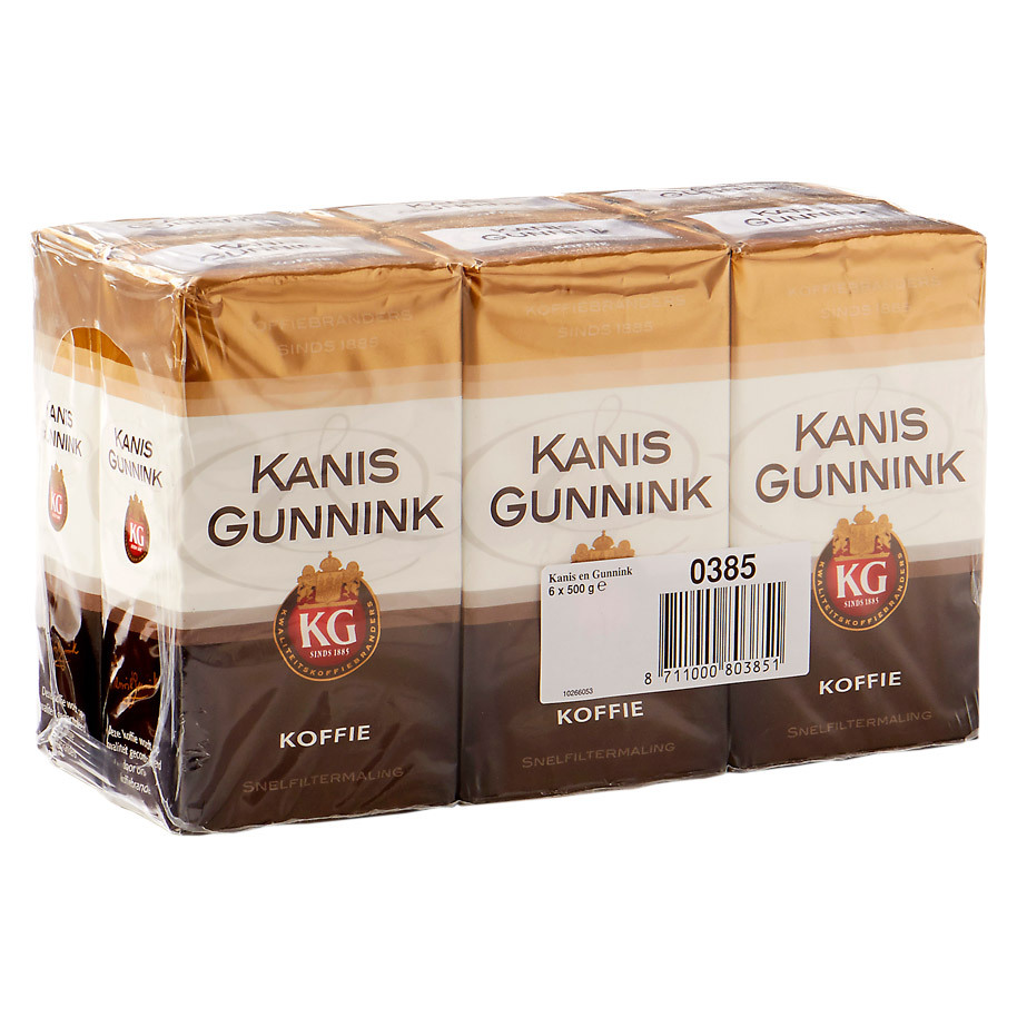 COFFEE K&G QUICK F. (QUICK FILTER) 500GR
