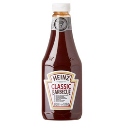 CLASSIC BARBECUE SAUCE HEINZ SQUEEZE