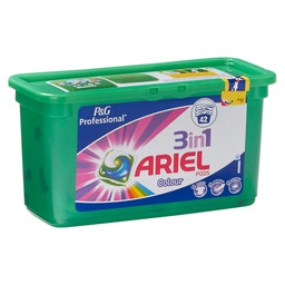 ARIEL 3-IN-1 COLOUR 42 PODS