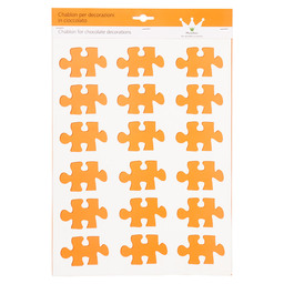 SILICONE MAT DECO PUZZEL 50X78MM