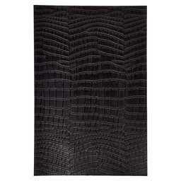 PLACEMAT 30X45CM CROCODILE LOOK BLACK