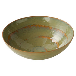 SALAD BOWL LARGE D32 H10.5 SEA GREEN