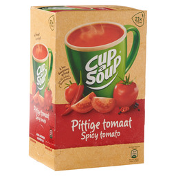 TOMATO SOUP SPICY CUP A SOUP CATERING