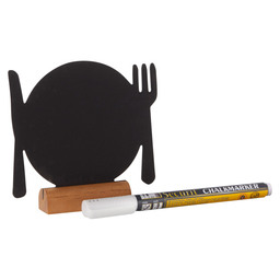 CHALK BOARD TABLE MODEL CUTLERY SET